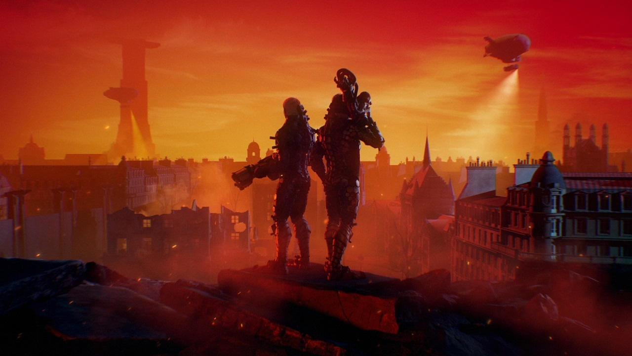 Wolfenstein: Youngblood; wallpaper: cover