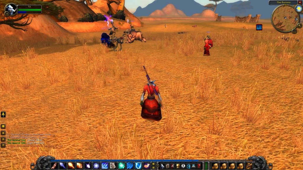World of Warcraft Classic; gameplay: Barrens