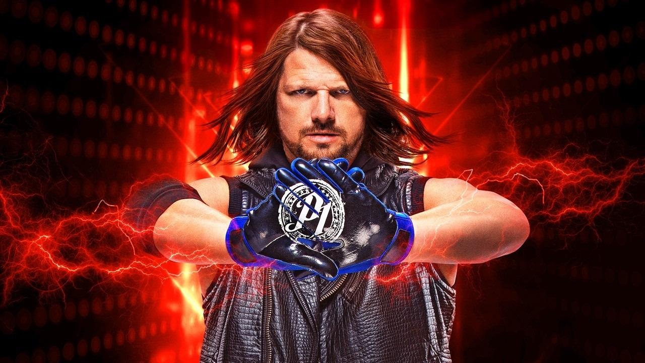 WWE 2K19; screenshot: cover