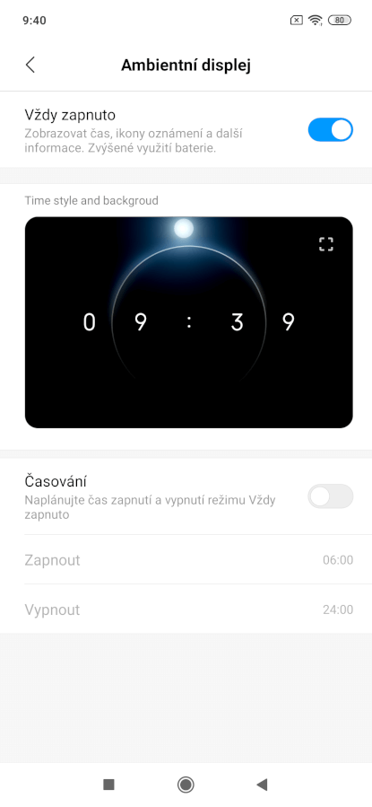 Xiaomi Mi 9, recenzia, operačný systém