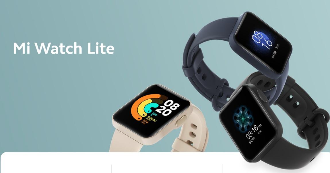 Xiaomi Mi Watch Lite, умные часы, носимая электроника; умные часы; носимые устройства;