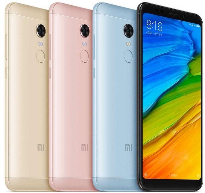 Xiaomi Redmi 5 Plus, farby
