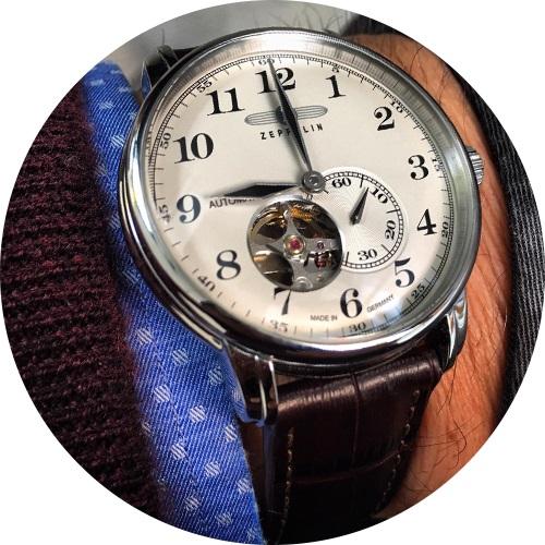 Automatické hodinky Zeppelin