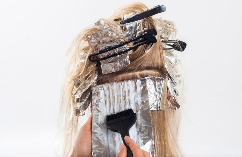 Zosvetľovanie vlasov