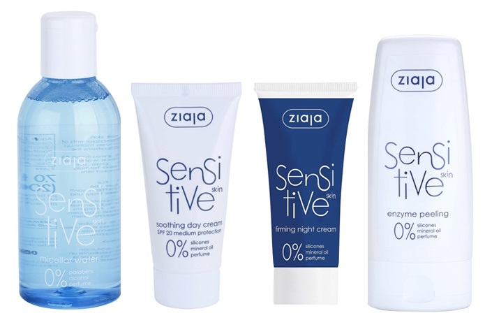 Kosmetický rad ZIAJA Sensitive