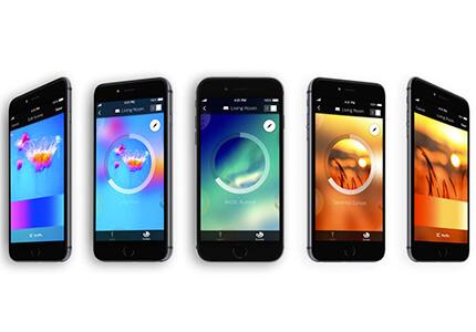 Aplikácia Philips Hue – možnosti farebného nastavenia