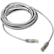 DATACOM Patch cord UTP CAT5E 0,25 m biely - Sieťový kábel
