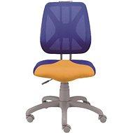 ALBA Fuxo modro/oranžová - Detská stolička