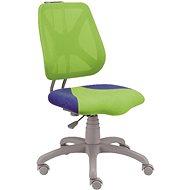 ALBA Fuxo zeleno/modrá - Detská stolička