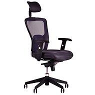 DIKE s podhlavníkom čierna - Kancelárska stolička