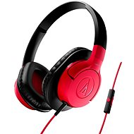 Audio-technica ATH-AX1iS červené - Slúchadlá