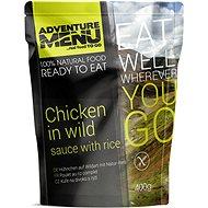 AdventureMenu - Kurča na divoko set (jedlo + ohrev + zipper bag) - Súprava
