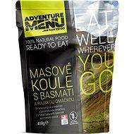AdventureMenu - Masovo-rýžové koule s rajskou omáčkou