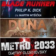 3 slavné sci-fi romány za výhodnou cenu - Dmitry Glukhovsky, Frank Herbert, Philip K. Dick