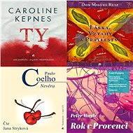 Balíček audioknih pro ženy za výhodnou cenu - Don Miguel Ruiz, Paulo Coelho, Peter Mayle, Caroline Kepnes
