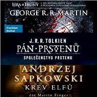 Balíček fantasy audioknih za výhodnou cenu - Andrzej Sapkowski, George R. R. Martin, J. R. R. Tolkien