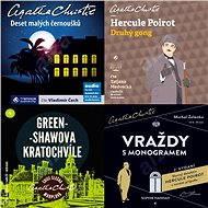 Balíček audioknih To nejlepší z Agathy Christie za výhodnou cenu - Agatha Christie