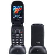 Aligator V400 Senior čierno-modrý + stolná nabíjačka - Mobilný telefón