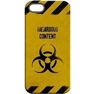 """MojePouzdro """"Na vlastné riziko"""" + ochranné sklo pre iPhone 6 Plus / 6S Plus - Zadný kryt"""