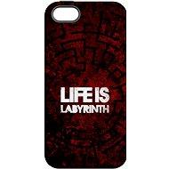 """MojePouzdro """"Život je labyrint"""" + ochranné sklo pre iPhone 6 Plus / 6S Plus - Zadný kryt"""