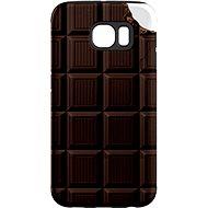 """MojePouzdro """"Čokoláda"""" + ochranné sklo pre Samsung Galaxy S6 - Ochranný kryt"""