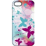 """MojePuzdro """"Biely motýľ"""" + ochranné sklo na iPhone 5s/SE - Ochranný kryt"""