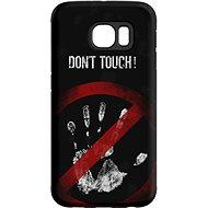 """MojePuzdro """"Nesiahať!"""" + ochranná fólia na Samsung Galaxy S6 Edge - Ochranný kryt"""