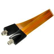 Anténny kábel Okenná priechodka 0,3 m, konektory F