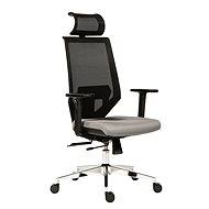 ANTARES Edge šedá - Kancelárska stolička