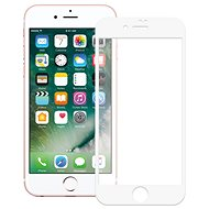 ScreenShield APPLE iPhone 8 Plus Tempered Glass Protection (full COVER white) na displej