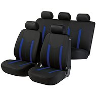 Walser poťahy sedadiel na celé vozidlo Hastings modrej / čierne - Autopoťahy