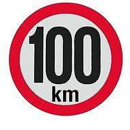 AGADOS Samolepka 100 km reflexné - Príslušenstvo
