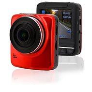 """COMPASS Kamera do auta Full HD 2,4"""" červená GPS - Záznamová kamera do auta"""