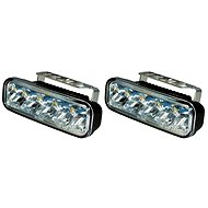 Svetlá denného svietenia LED, svetlá na denné svietenie, obdĺžnik, 5 LED - Svetlá
