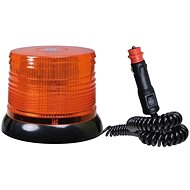 Maják oranžový 100 LED magnet - skrutka 12/24V - maják