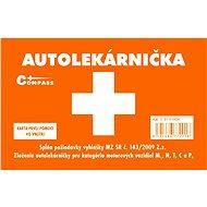 Compass Lekárnička I. plastová pre slovenský trh - Autolekárnička