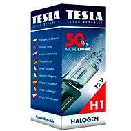 TESLA Žiarovka H1, 12V, 55 W, P 14,5 s + 50% - Autožiarovka