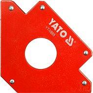 Uholník magnetický na zváranie 34 kg s otvorom - Držiak