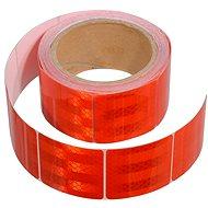 Compass Samolepiaca páska reflexná delená 5 m x 5 cm červená (rolka 5 m) - Páska