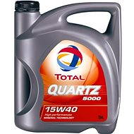 TOTAL QUARTZ 5000 15W40 - 5 litrov - Olej