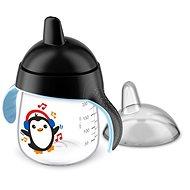 Philips AVENT netečúci hrnček Premium 260 ml, čierny - Detský hrnček