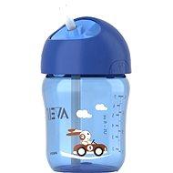 Philips AVENT fľaša so slamkou 260ml, modrá - Detská fľaša