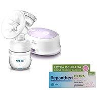 Philips AVENT Elektronická odsávačka Natural + Bepanthen 100 g - Odsávačka materského mlieka
