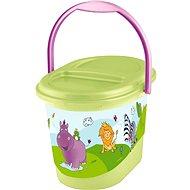 OKT Kôš na plienky HIPPO - zelený - Kôš na plienky