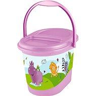 OKT Kôš na plienky HIPPO - fialový - Kôš na plienky