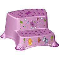 OKT Dvojstupínek HIPPO - fialový - Stupínek