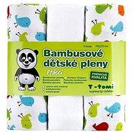 T-tomi Pleny bambusové 3 ks - ptáčci - Detské plienky