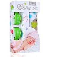 T-tomi Baby Set - zeleňou slony - Detská súprava