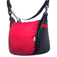 Caretero taška na kočík - čierna / červená - Taška na kočík