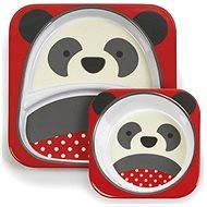 Skip hop Zoo Jedálenská súprava - Panda - Jedálenská sada pre deti